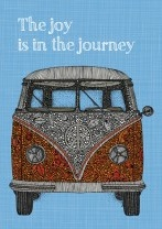 Joy Is In The Journey Bus