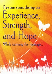 Experience Strength & Hope Card