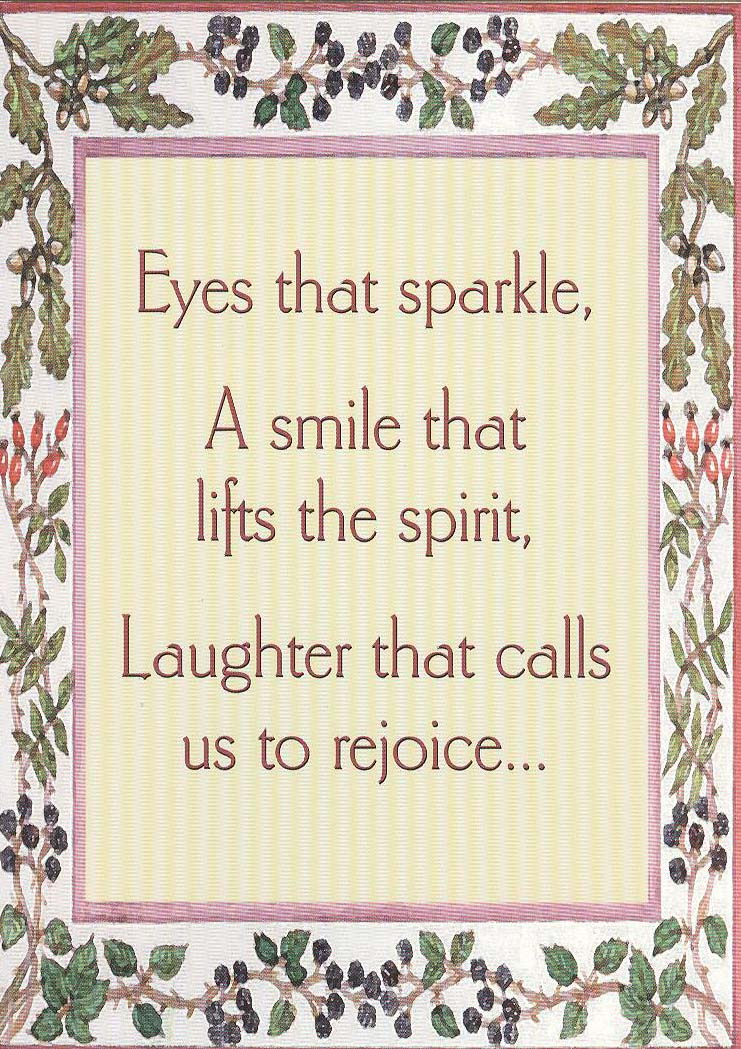 Eyes That Sparkle Card