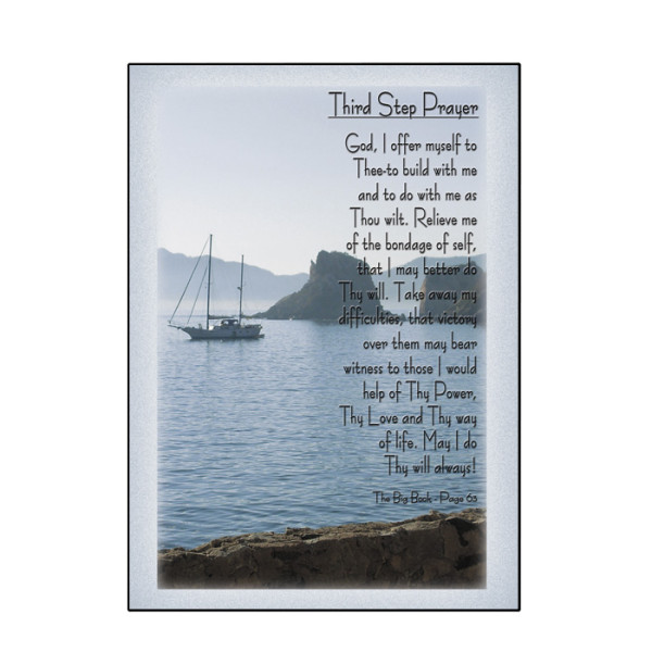 Third Step Prayer Card - 2