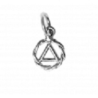 AA Twist Wire Pendant (small)
