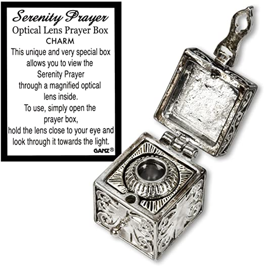Serenity Prayer Optical Lens Prayer Box