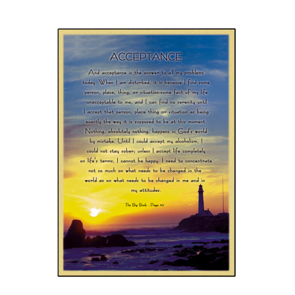 Acceptance Card (Sunset)