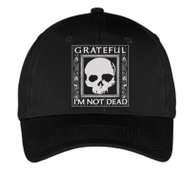 Grateful I'm Not Dead Hat - Black
