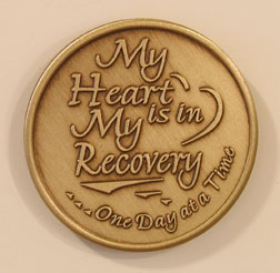 My Heart is in Recovery - ODAT Bronze Medallion