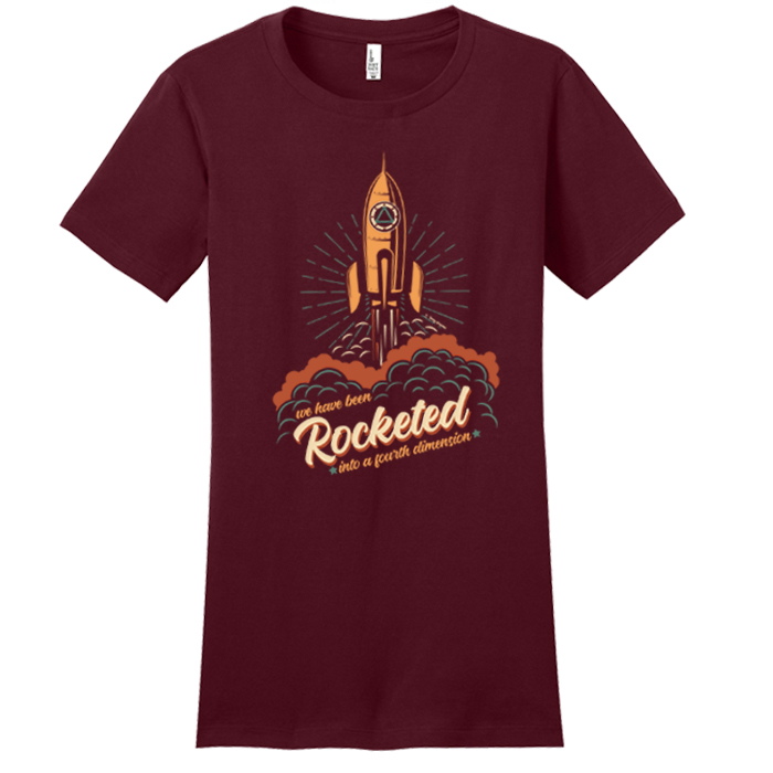 ***NEW*** Rocketed Tee (Maroon)