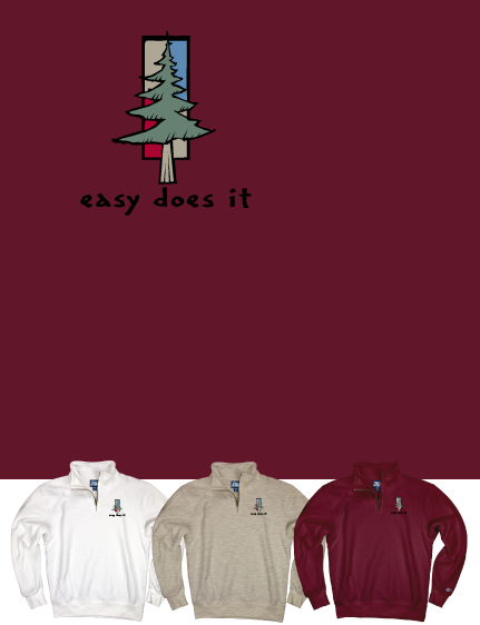 Easy Does It Quarter-Zip