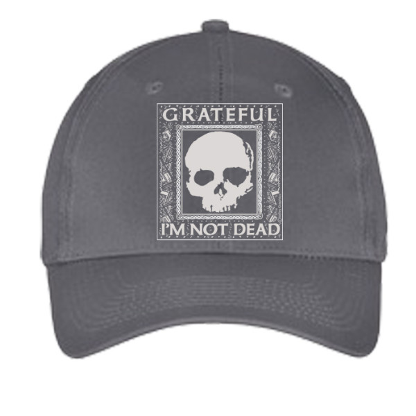 Grateful I'm Not Dead Hat - Gray