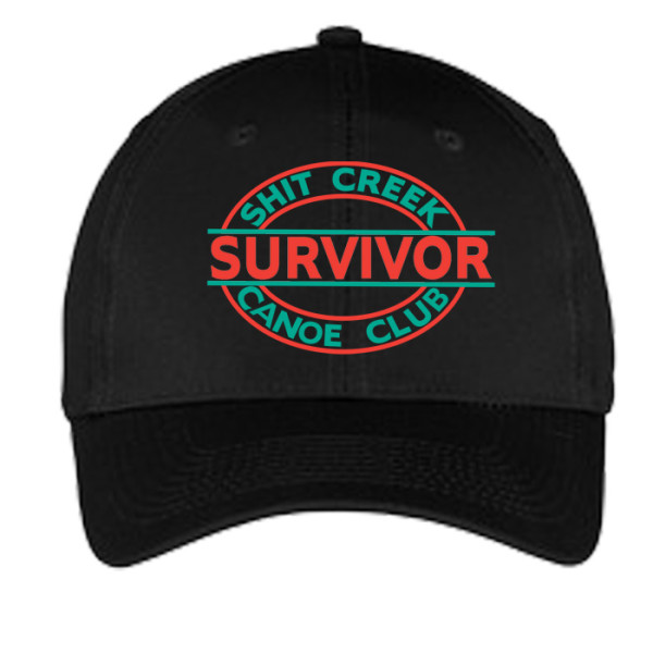 Sh*t Creek Survivor Embroidered Hat