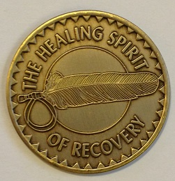 Healing Spirit of Recovery Bronze Medallion