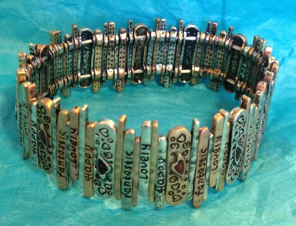 Positive Words Bracelet