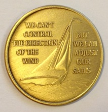 We Can't Control the Wind...Bronze Medallion