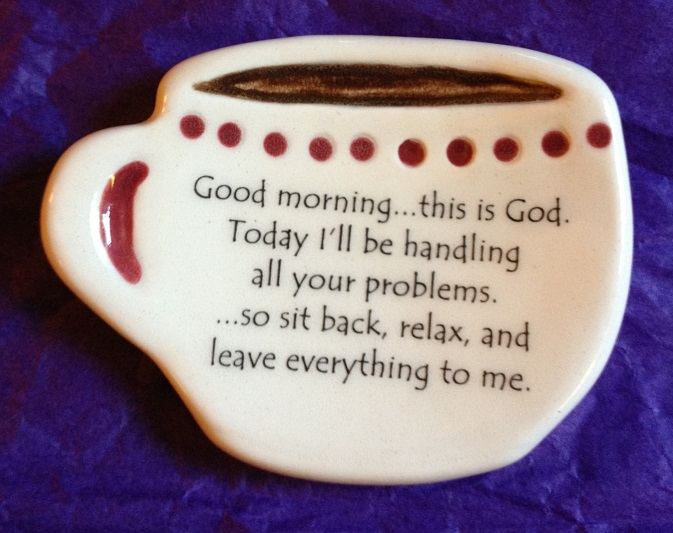 Good Morning This Is God Spoon Rest