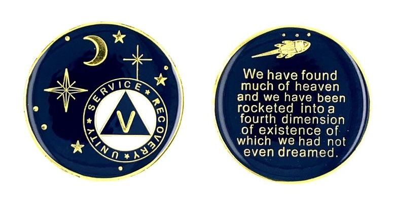 AA Stars and Moon Medallion #Rocketed!
