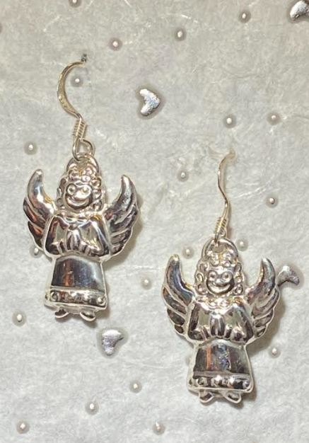 Whimsical Angel Earrings