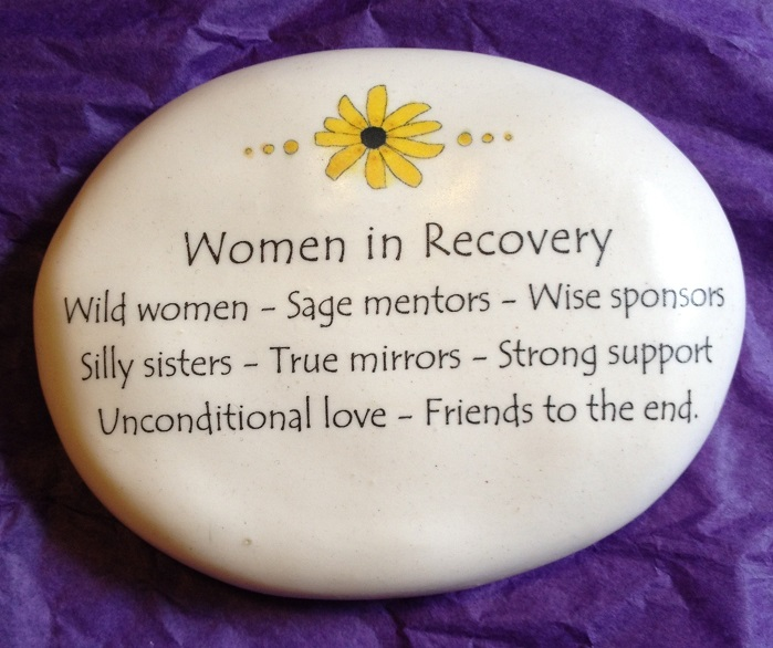 Women in Recovery Black Eyed Susan Rock