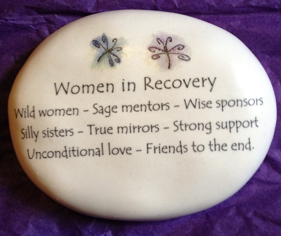 Women in Recovery Dragonfly Rock